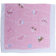 Beli Cotton Tree Towel Animal Pink Online Indonesia