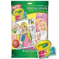 Ulasan Crayola Cw 1 Bp Barbie 8X10 O W 18Pk