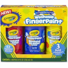 Crayola Washable Fingerpaint Primary Color