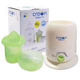 Spesifikasi Crown 4In1 Bottle Warmer Pemanas Botol Asi Baru