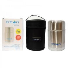 Toko Crown Food And Soup Thermos 600Ml Lengkap