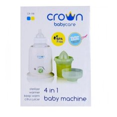 Beli Crown Warmer 4 In 1 Penghangat Susu Penghangat Asi Sterilizer Botol Asi Food Warmer Pemanas Susu Bayi Pake Kartu Kredit