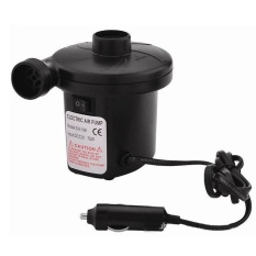 CS 12V/4800Pa Ac Car Electric Air Pump For Camping Airbed Boattoyinflator Black