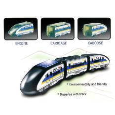 CSL Kereta Tenaga Matahari / Solar Bullet Train / Edukasi Merakit Mainan