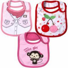Jual Ct Bib 3Piece Set Girls A Ct Branded