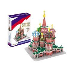 CUBICFUN ST. basil's cathedral C239h 3D Puzzle