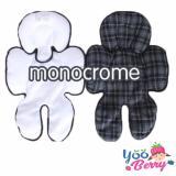 Toko Yooberry Cuddle Me Seatpad Alas Stroller Kereta Bayi Monochrome Terdekat