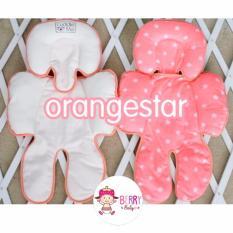 Harga Yooberry Cuddle Me Seatpad Alas Stroller Kereta Bayi Orange Star Cuddle Me Original