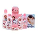 Spesifikasi Cussons Baby Gift Box Pink Paket Perlengkapan Bayi Baru
