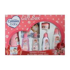 Situs Review Cussons Baby Gift Box Pink Paket Perlengkapan Bayi
