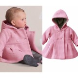 Toko Cute Baby G*rl Musim Dingin Hangat Wol Blend Snowsuit Lapisan Jaket Pakaian Luar Pakaian 6M 3Y 1 2Yrs Termurah