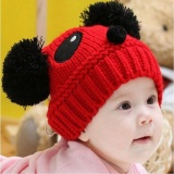 Obral Cute Baby Kids Girls Boys Stretchy Warm Winter Panda Cap Hat Beanie Rd Nbsp Intl Murah