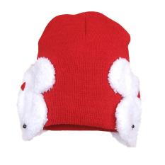 Lucu Yang Dapat Membuat Orang Yang Melihatnya Tertawa Terbahak-bahak atau  Justru Kesal Karena Merasa Balita Bayi Hangat Rajutan Beanie Double Topi  Topi ... abf5ac69df
