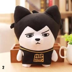 Cute Kartun BTS Bangtan Boys Plush Doll Toy Boys Kid Dukungan Penggemar Korea Hadiah Live Tampilkan Mainan (Pola: 02)-Intl