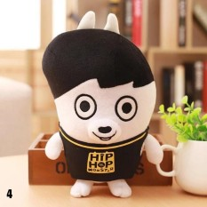 Cute Kartun BTS Bangtan Boys Plush Doll Toy Boys Kid Dukungan Penggemar Korea Hadiah Live Tampilkan Mainan (Pola: 04)-Intl