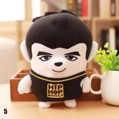 Cute Kartun BTS Bangtan Boys Plush Doll Toy Boys Kid Dukungan Penggemar Korea Hadiah Live Tampilkan Mainan (Pola: 05)-Intl