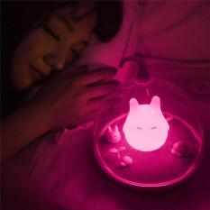 Sensor Sentuhan Lucu Portable USB LED Lampu untuk Tidur Tidur Bayi Lighting Art Dekorasi Lampu Malam (Pink) -Intl