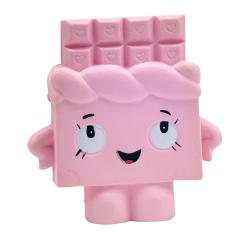Jual Cute Slow Rising Chocolate Doll Soft Squishy Toys Stress Anxiety Reducer Creative Pu Vent Toy For Kids *d*lt Colour Pink Size 12 13Cm Murah Indonesia