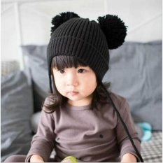 Review Pada Cute Winter Baby Kids Girls Boys Hangat Wol Topi Topi Nbsp Intl