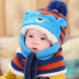 Jual Cute Winter Baby Kids Girls Boys Hangat Wol Coif Hood Scarf Caps Topi Nbsp Intl Online Di Tiongkok
