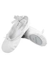 Cyber Arshiner Manis Lembut Menghibur Anak Sepatu Balet Yang Solid Putih Original