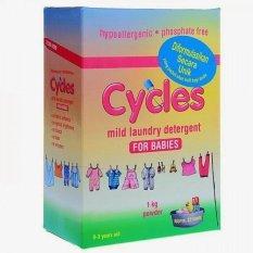 Beli Cycles Mild Laundry Detergen For Babies Powder 1 Kg Pakai Kartu Kredit