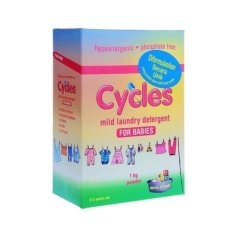 Cycles Mild Laundry Detergent Powder 1Kg Original