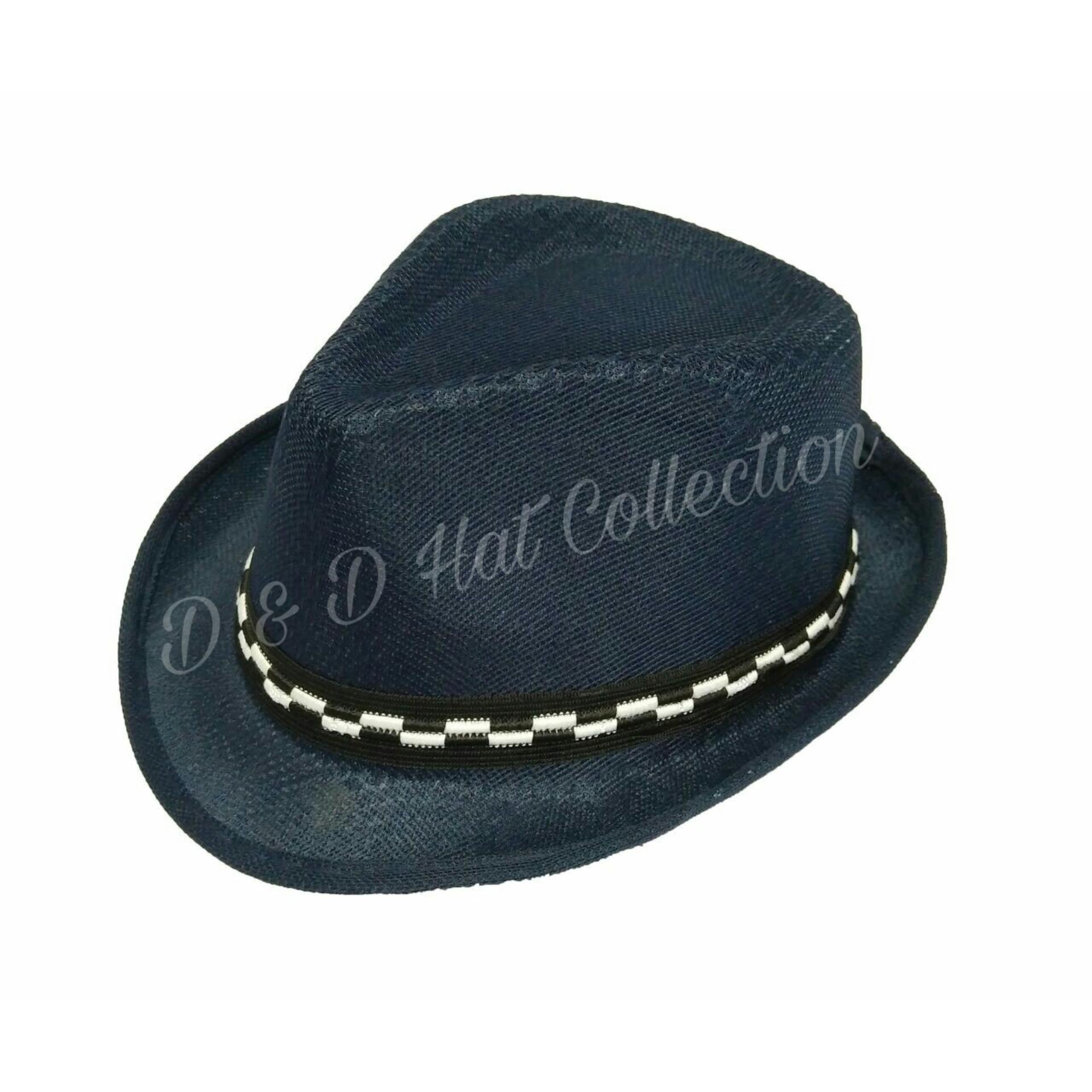 Bandingkan Toko D   D Collection Fedora Hat For Kids   Topi Fedora Jazz  Anak Unisex ab4f761f95