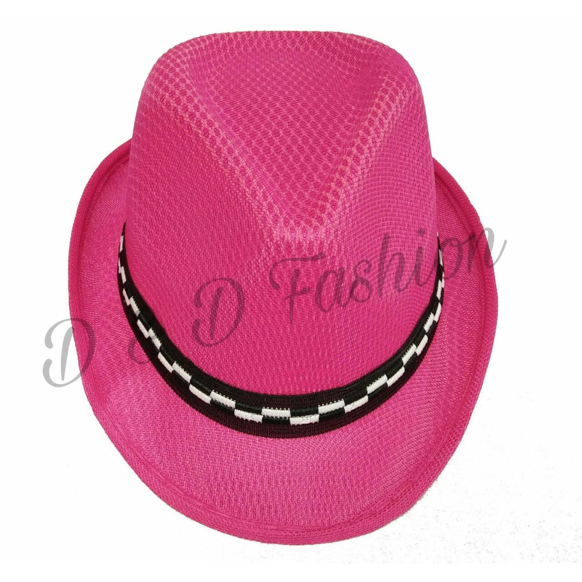 Harga preferensial D   D Fashion Fedora Hat For Kids   Topi Fedora Jazz  Anak Unisex 5d5a912759