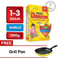 Harga Hemat Dancow 1 Excelnutri Vanila 1000 Gr Bundle 7 Gratis Grill Pan