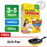 Review Dancow 3 Excelnutri Vanila 1000 Gr Bundle 7 Gratis Grill Pan