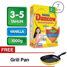Jual Beli Online Dancow 3 Excelnutri Vanila 1000 Gr Bundle 7 Gratis Grill Pan