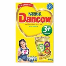 Harga Dancow 3 Plus Vanilla 800 Gram Satu Set