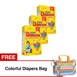 Beli Dancow Advanced Excelnutri 1 Usia 1 3 Tahun Madu 800Gr Bundle Isi 3 Box Free Colorful Diapers Bag Dancow