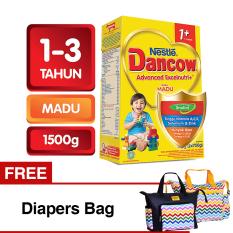Harga Dancow Advanced Excelnutri 1 Usia1 3 Tahun Madu 1500Gr Free Diapers Bag Termurah