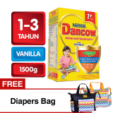 Dancow Advanced Excelnutri 1 Usia1 3 Tahun Vanila 1500Gr Free Diapers Bag Indonesia