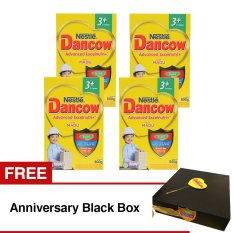 Ulasan Tentang Dancow Advanced Excelnutri 3 Madu 800Gr Isi 4 Box Free Anniversary Black Box