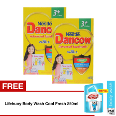 Beli Dancow Advanced Excelnutri 3 Usia 3 5 Tahun Vanila 800Gr Bundle Isi 2 Box Gratis Lifebuoy Body Wash Cool Fresh 250Ml Dancow Dengan Harga Terjangkau