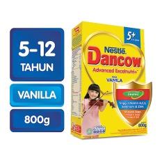 Harga Dancow Advanced Excelnutri 5 Vanila Box 800G Seken