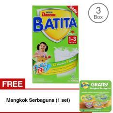 Dancow Batita Nutri Tat Madu Susu Pertumbuhan 1 3 Tahun Box 1Kg Bundle Isi 3 Free Mangkok Serbaguna Dancow Diskon 40
