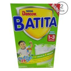 Spesifikasi Dancow Batita Nutri Tat Vanila Susu Pertumbuhan 1 3 Tahun Box 1Kg Bundle Isi 2 Box