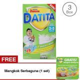 Promo Toko Dancow Datita Nutri Tat Vanila Susu Pertumbuhan 3 5 Tahun Box 1Kg Bundle Isi 3 Free Mangkok Serbaguna