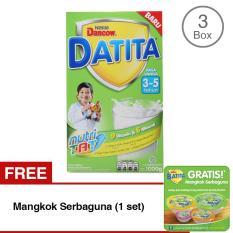 Jual Dancow Datita Nutri Tat Vanila Susu Pertumbuhan 3 5 Tahun Box 1Kg Bundle Isi 3 Free Mangkok Serbaguna Dancow Online