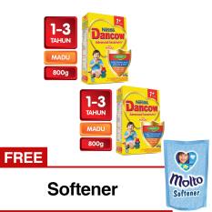 Spesifikasi Dancow Excelnutri 1 Susu Pertumbuhan Madu 800Gr Bundle 2 Gratis Softener