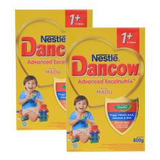 Jual Dancow Advanced Excelnutri 1 Madu Box 800G Bundle Isi 2 Box Branded