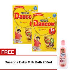 Dancow Excelnutri 1 Usia 1 3 Tahun Madu 800Gr Bundle Isi 2 Box Cussons Baby Milk Bath 200Ml Promo Beli 1 Gratis 1