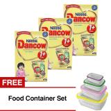 Spesifikasi Dancow Excelnutri 1 Usia 1 3 Tahun Vanila 800Gr Isi 3 Gratis Food Container Set Merk Dancow