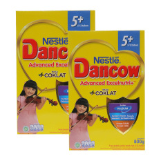 Harga Dancow Advanced Excelnutri 5 Cokelat Box 800G Bundle Isi 2 Box Termahal