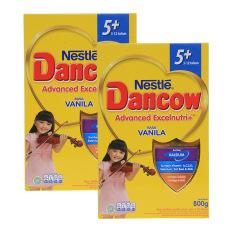 Dancow Advanced Excelnutri 5 Vanila Box 800G Bundle Isi 2 Box Dancow Diskon 40