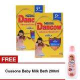 Jual Dancow Excelnutri 5 Usia 5 12 Tahun Vanila 800Gr Bundle Isi 2 Box Cussons Baby Milk Bath 200Ml Branded Murah